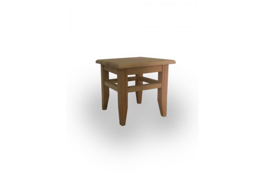 "Wooden stool ""Baby"" natural wood"