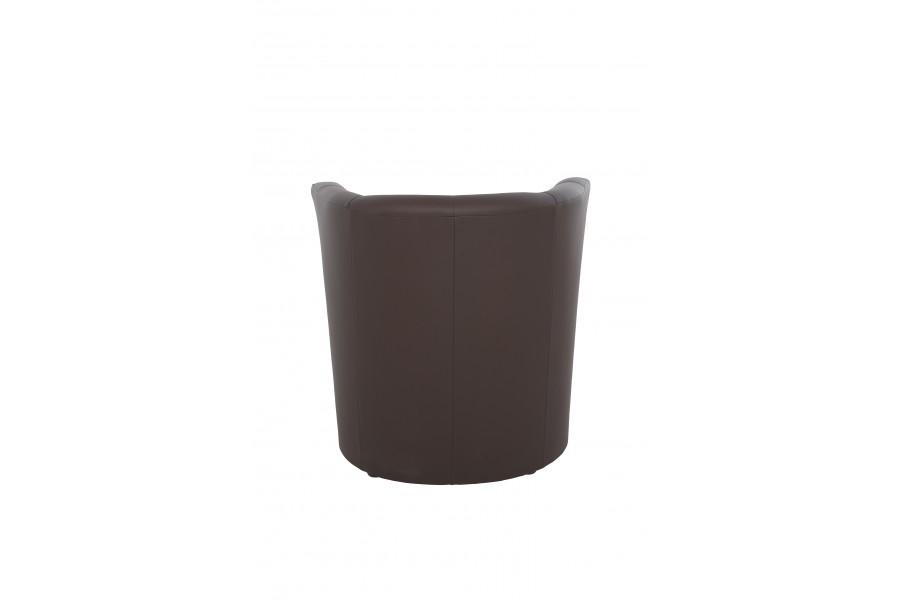 "Single chair ""Fotel ТМ-1 Signal"" brown"