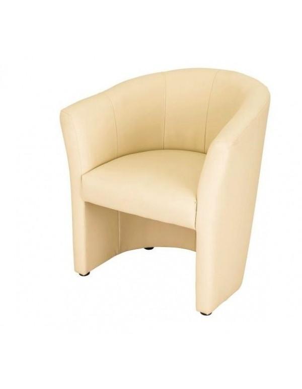 "Single chair ""Fotel ТМ-1 Signal"" ivory"
