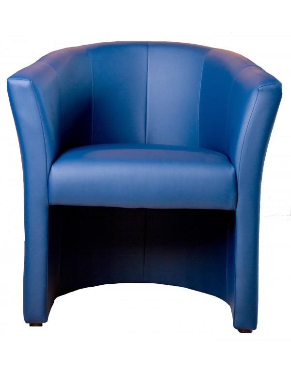 "Single chair ""Fotel ТМ-1 Signal"" blue"