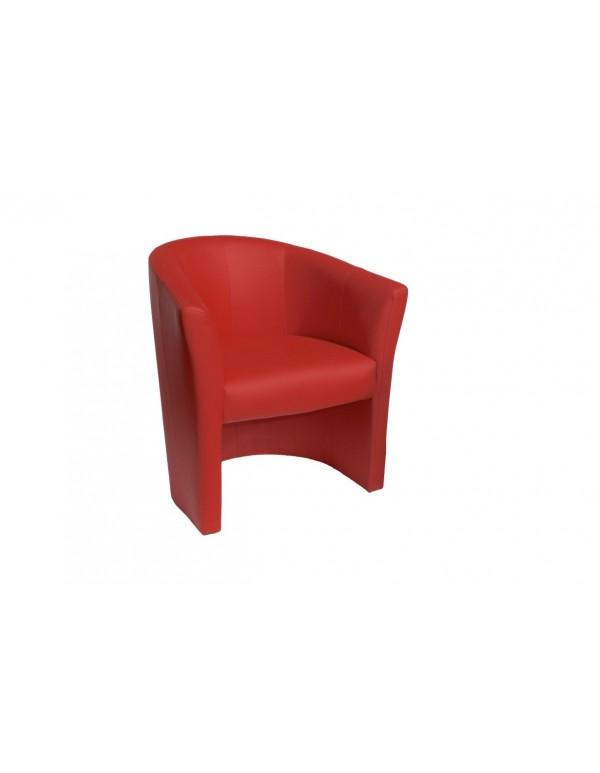 "Single chair ""Fotel ТМ-1 Signal"" red"