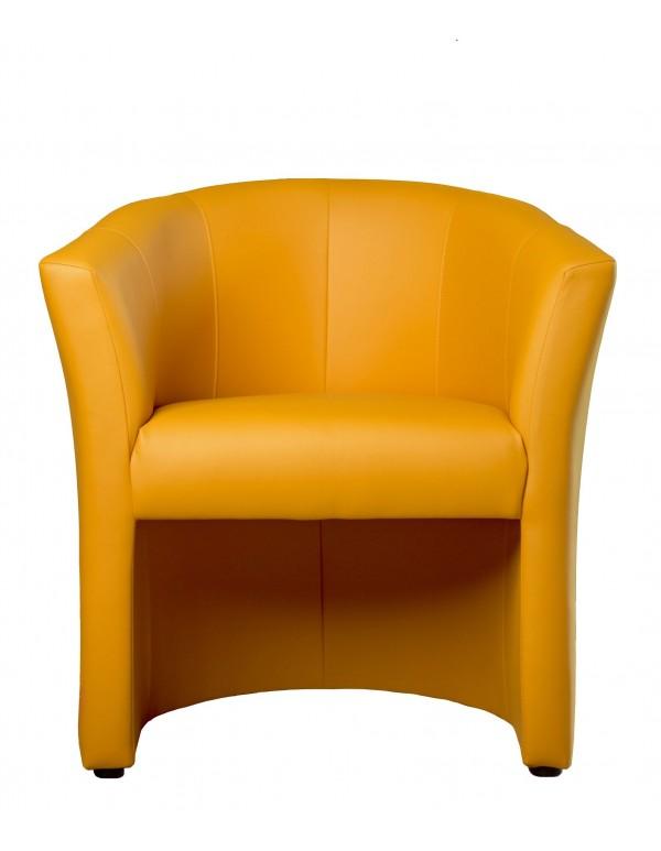 "Single chair ""Fotel ТМ-1 Signal"" orange"