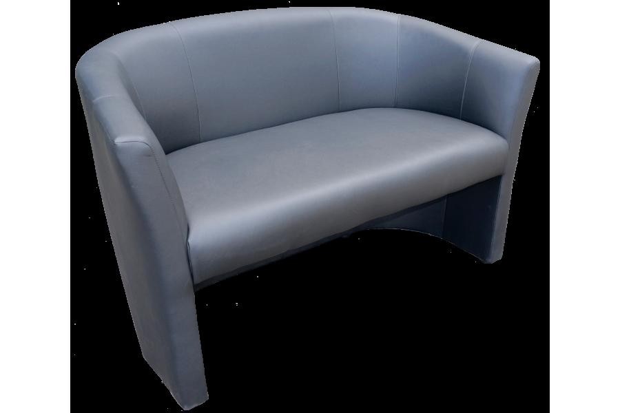 "Double armchair ""Fotel TM-2 Signal"" dark gray"