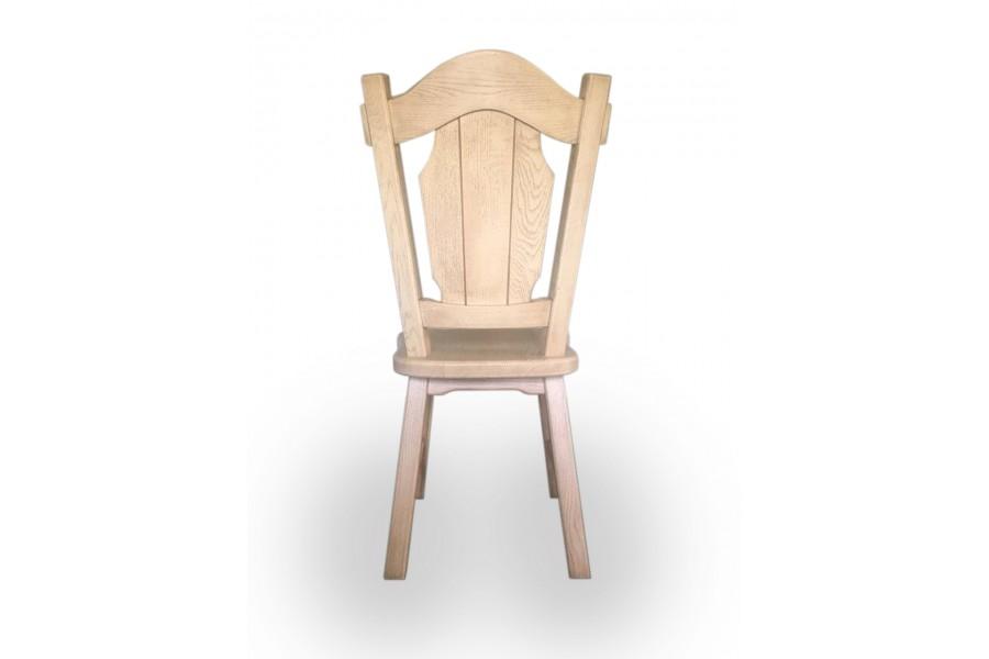 "Chair ""Carl"" ivory, patina"